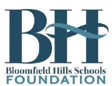 BHS Foundation Donation