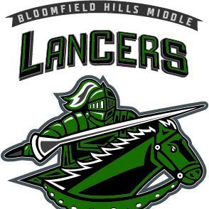 Bloomfield Hills Middle School Lancer Fund Donations