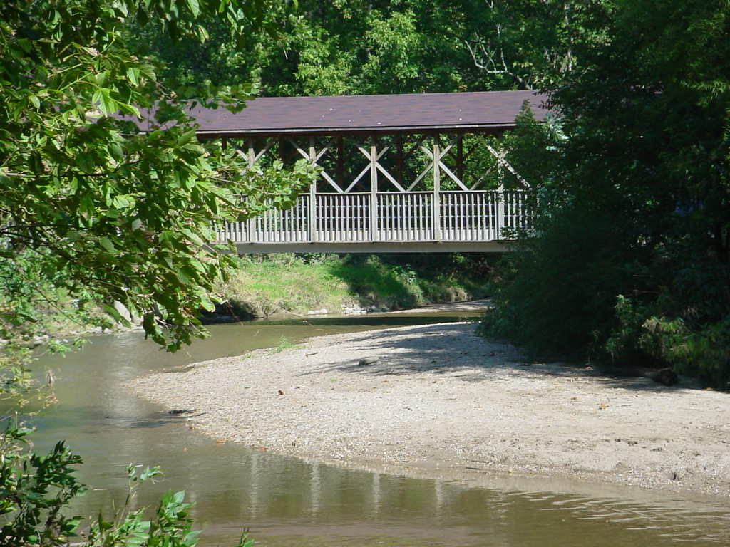 Covered Bridge in Pioneer Park