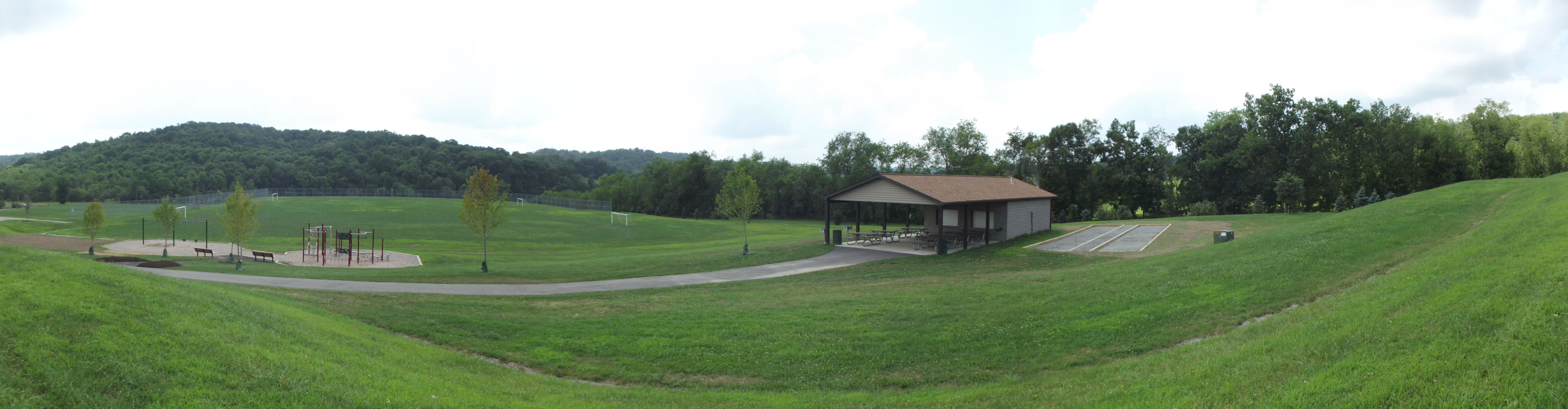 Leftwich pavilion and soccer fields