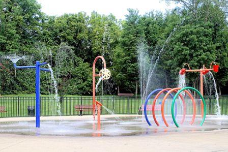 Gregory Mill Splash Pad