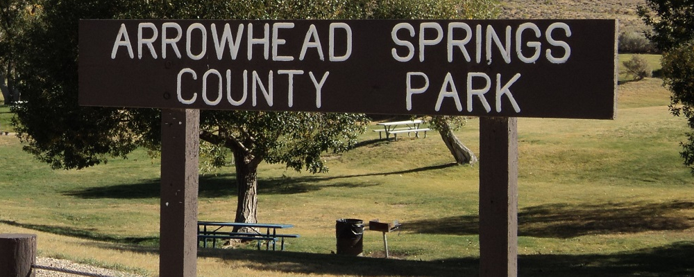 Arrowhead Springs Sign