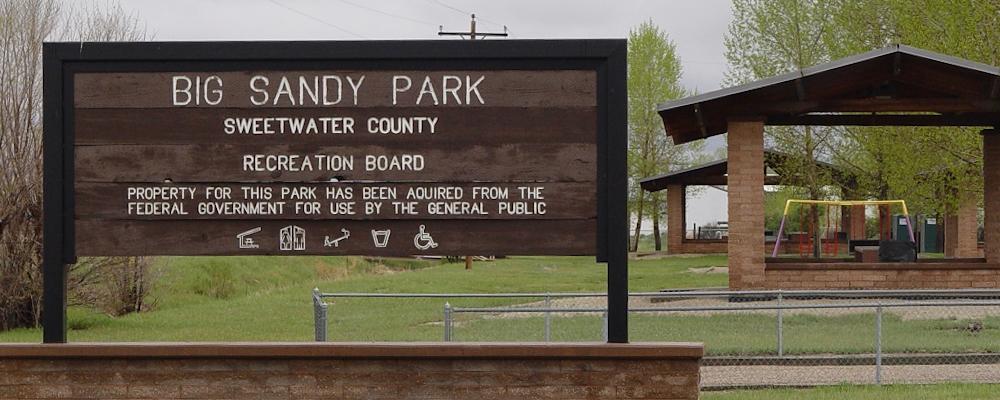 Big Sandy Park Sign
