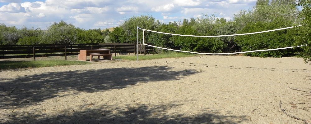 Volleyball Court Near Pavilion B