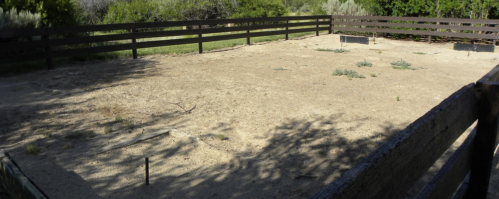 Horseshoe Pits Near Pavilion B
