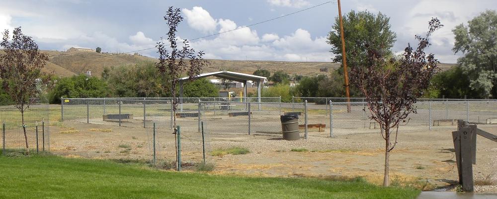 Horseshoe Pits Near Pavilion