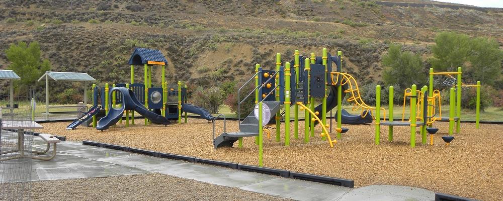 Playground Near Pavilion