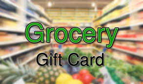 Donate a grocery store gift card